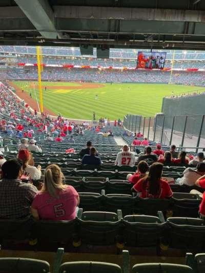 Angel Stadium secção 233