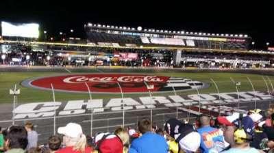 Charlotte Motor Speedway, secção: General Motors G, fila: 23, lugar: 30