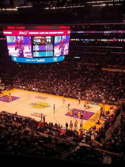 Staples Center secção Suite C5