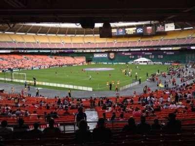 RFK Stadium, secção: 315, fila: 9, lugar: 10