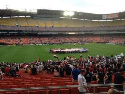 RFK Stadium, secção: 335, fila: 6, lugar: 11
