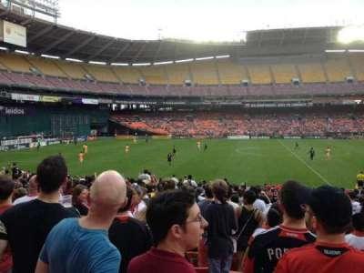 RFK Stadium, secção: 234, fila: 9, lugar: 10