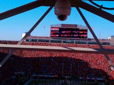 Memorial Stadium, secção: 16-b1, fila: 98, lugar: 27