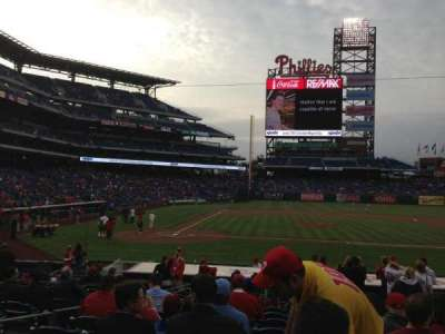Citizens Bank Park secção 118