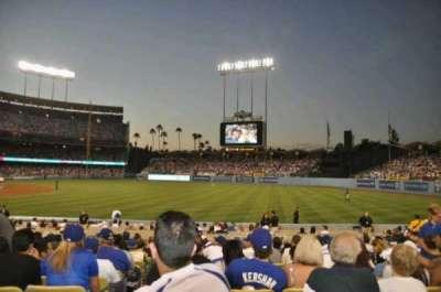 Dodger Stadium secção 40FD
