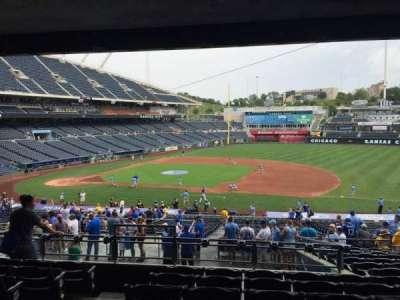 Kauffman Stadium, secção: 237, fila: PP, lugar: 3