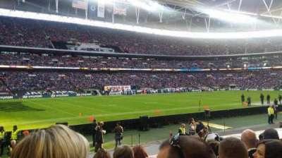 Wembley Stadium secção 105
