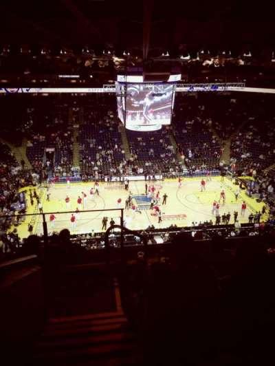 Oakland Arena secção 217