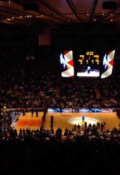 Madison Square Garden secção 406