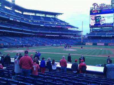 Citizens Bank Park secção 116