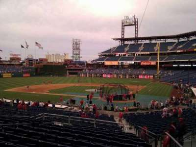 Citizens Bank Park secção 126