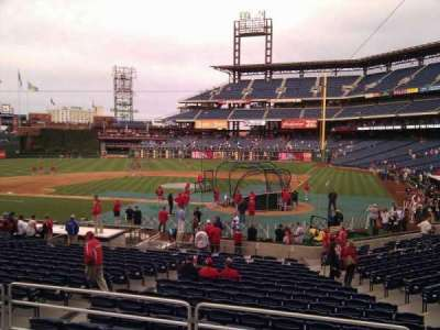 Citizens Bank Park secção 127