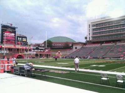 Maryland Stadium, secção: 6, fila: b, lugar: 17