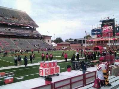 Maryland Stadium, secção: 24, fila: g, lugar: 10