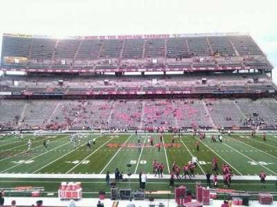 Maryland Stadium, secção: 25, fila: ff, lugar: 14