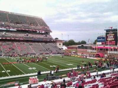 Maryland Stadium, secção: 24, fila: gg, lugar: 4