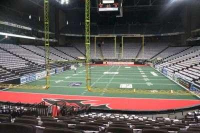 Jacksonville Veterans Memorial Arena, secção: 120, fila: N, lugar: 7