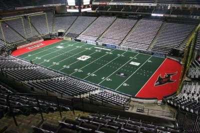Jacksonville Veterans Memorial Arena, secção: 301, fila: G, lugar: 5
