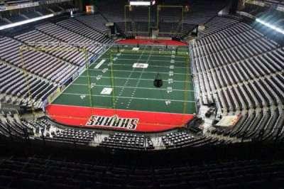Jacksonville Veterans Memorial Arena, secção: 311, fila: F, lugar: 6