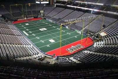 Jacksonville Veterans Memorial Arena, secção: 315, fila: F, lugar: 7
