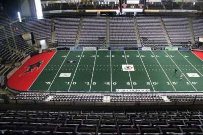 Jacksonville Veterans Memorial Arena, secção: 321, fila: F, lugar: 10