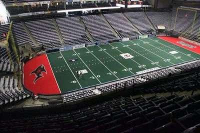 Jacksonville Veterans Memorial Arena, secção: 323, fila: K, lugar: 9