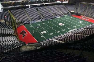 Jacksonville Veterans Memorial Arena, secção: 324, fila: G, lugar: 6