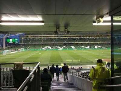 Aviva Stadium secção 125