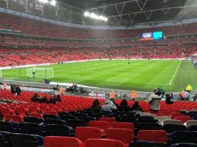 Wembley Stadium, secção: 109, fila: 27, lugar: 188