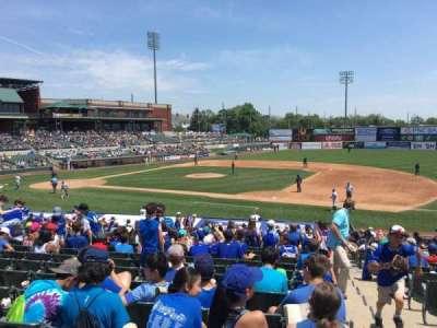 TD Bank Ballpark, secção: 215, fila: V, lugar: 1