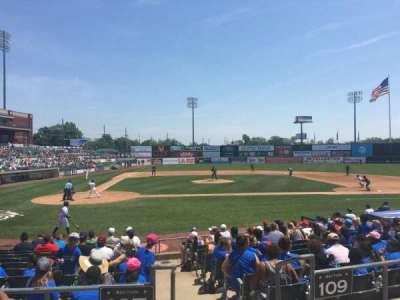 TD Bank Ballpark, secção: 207, fila: K, lugar: 1