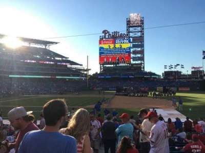 Citizens Bank Park secção 115