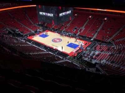 Little Caesars Arena, secção: 208, fila: 9, lugar: 16