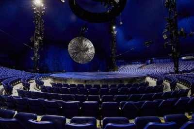 Cirque Du Soleil - Luzia, secção: 101