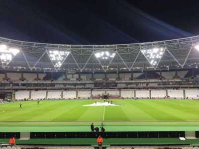 London Stadium secção 136