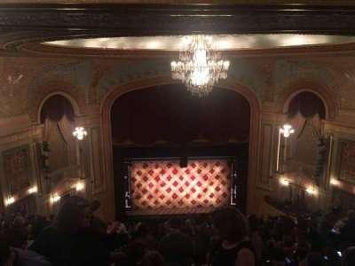 Forrest Theatre, secção: R Mez, fila: P, lugar: 10