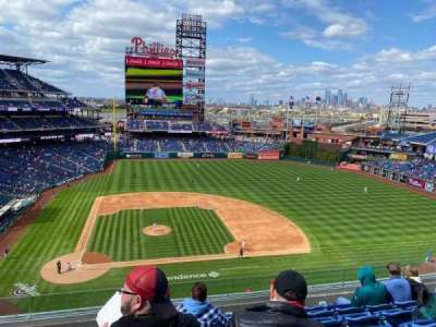 Citizens Bank Park, secção: 316, fila: 17, lugar: 18