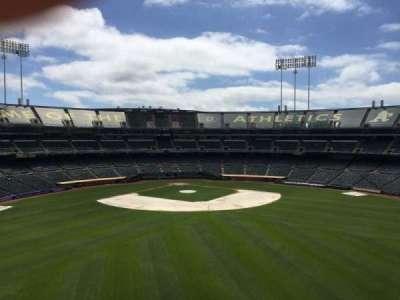 Oakland Coliseum, secção: 244, fila: 2
