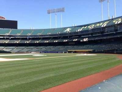 Oakland Coliseum secção 3B FB