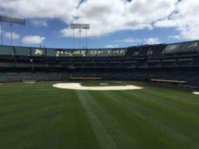 Oakland Coliseum, secção: BL RF
