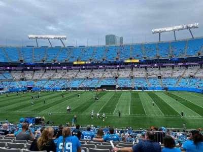 Bank of America Stadium secção 342