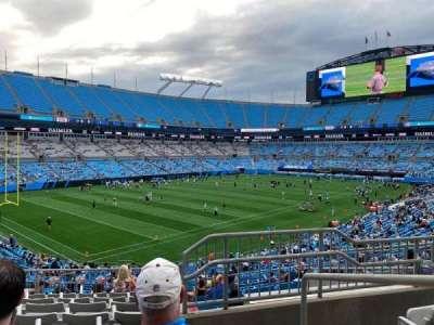 Bank of America Stadium secção 323