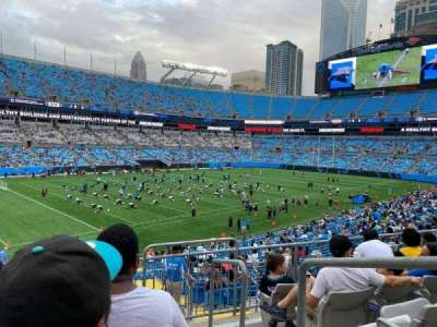 Bank of America Stadium secção 350