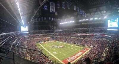Lucas Oil Stadium secção 604