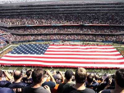 Soldier Field, secção: 436, fila: 31