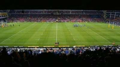 Newlands Rugby Stadium, secção: Railway Level 2, fila: S, lugar: 147
