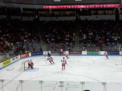 Agganis Arena, secção: 104, fila: K, lugar: 22