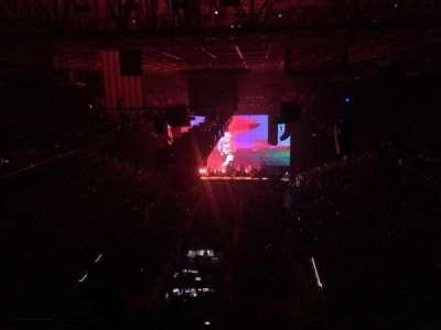 Greensboro Coliseum secção 222