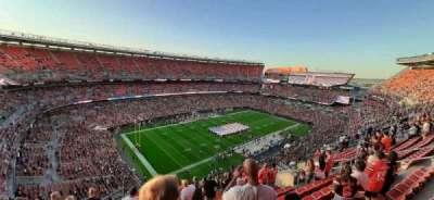 FirstEnergy Stadium, secção: 503, fila: 17, lugar: 2