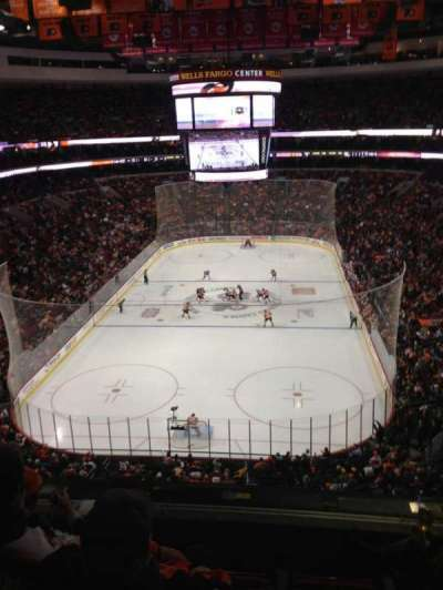 Wells Fargo Center secção 219A